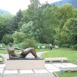 Giardino Fondazione Gianadda a Martigny